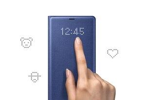 Image 5 - סמסונג המקורי Led חכם טלפון מקרה צפה בכיסוי לסמסונג גלקסי הערה 8 Note8 N9500 N9508 SM N950F מגן חזרה טלפון מקרה