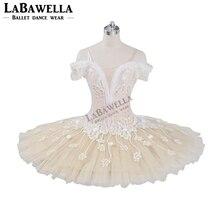 Bale bej peri Harlequinade değişimi profesyonel Tutu elbise çocuklar performans rekabet Tutu kostüm BT9073