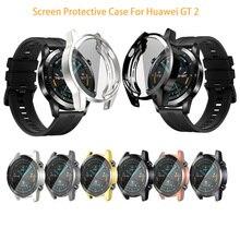 Защитный чехол для huawei watch GT 2 46 мм мягкий ТПУ полный защитный чехол для huawei Gt протектор для часов крышка аксессуары