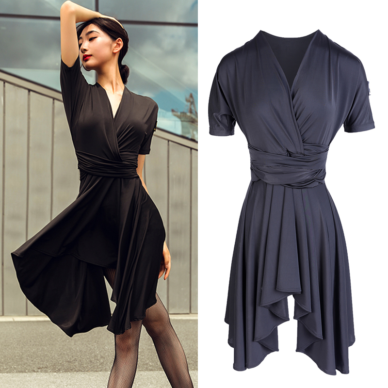 Latin Dance Dresses Female Adults New Latin Practice Wear Professional Sexy Dancing Dresses In 2019 Performance Outfits BL2624