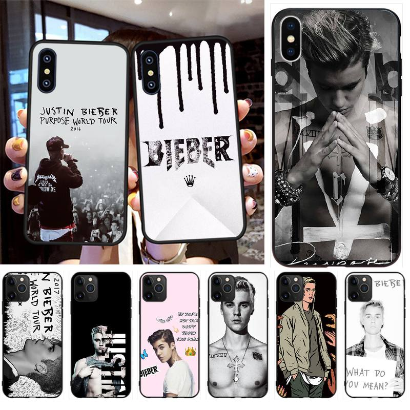 PENGHUWAN Justin Bieber purpose Genius singer Coque Shell Phone Case for iPhone 11 pro XS MAX