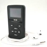DAB P7 Pocket Broadcast MP3 Player Stereo Radio Radio Receiver FM Portable LCD Display Mini FM Radio Station Digital Radio
