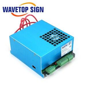 Image 2 - WaveTopSign MYJG 40 CO2 Laser Power Supply 40W 110V/220V For CO2 Laser Tube High Voltage Engraving Cutting Machine