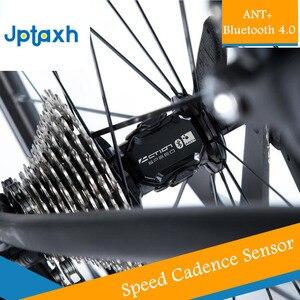 Велосипедный компьютер, измеритель скорости ANT + скорости и частоты вращения, двойной датчик Jptaxh M10, подходит для Garmin iGPSPORT Bryton Blutooth 4,0 Strava