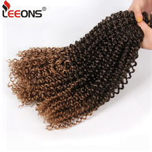 Leeons 18Inch Passion Twist Synthetic Crochet Braid Hair Extension Ombre Braiding Goddess Spring Kinky Freetress