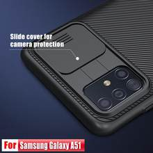 Voor Galaxy A51 Case Nillkin Camshield Case Slide Camera Cover Anti-Slippen Stofdicht Anti-Vingerafdrukken Voor galaxy A71(China)