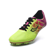 Shoes Nail-Spikes Sprint Sneakers Track Field Running And Men Lightweight Teenagers D0875
