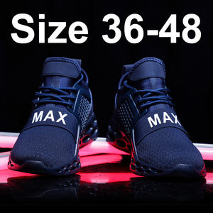 Bomlight Blue Sneakers Men Casual Shoes Men Trainers Unisex Shoes Couple Man Sneakers Letter Max Brand Tenis Masculino Adulto 48(China)
