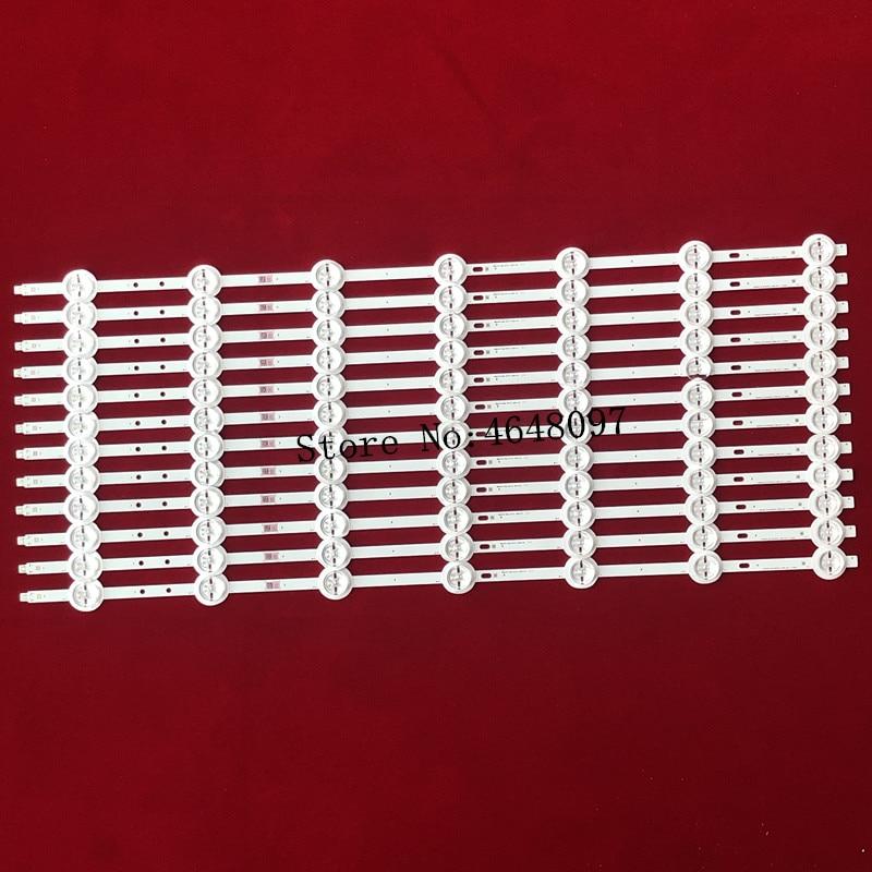 New 12pcs/Kit LED strips for PHI LIPS 55 TV 55PUS8700 12 55PUS8700/12 LTA550FW01 SVS550AB5 REV7.1 7COB 140702