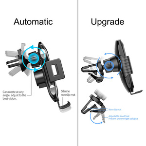 Image 5 - SIKAI 15W אוויר Vent רכב מגנטי אלחוטי מטען טלפון מחזיק עבור iPhone 11 פרו תואם עם 5W 7.5W 10W רכב שידור