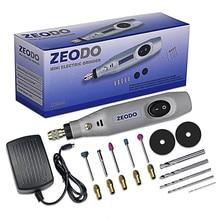 ZD6000 Electric Grinder Mini Drill Copper 100V-240V Engraving Tool Cutting Grinding Polishing Descaling Pen DIY Set Power Tool