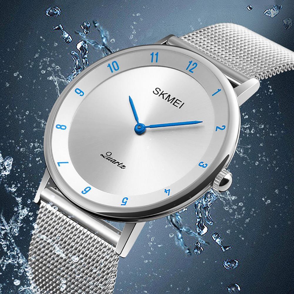 SKMEI 1264 Fashion Men Arabic Numbers Quartz Analog Waterproof Business Party Wrist Watch
