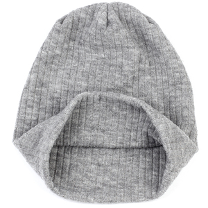 Image 4 - Charm Wood Spring Winter Autumn Fashion Solid Color Ribbed Beanie Hat Cotton Skull Caps For Adults Woman Man Beanies Warm
