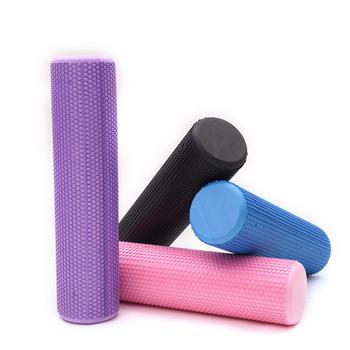 30 45 60CM joga wałek piankowy EVA o wysokiej gęstości wałek do masażu mięśni siebie urządzenie do masażu dla siłownia Pilates joga sprzęt do fitnessu tanie i dobre opinie DEDOMON CN (pochodzenie) Foam Roller Gym Equipment Massage Tool