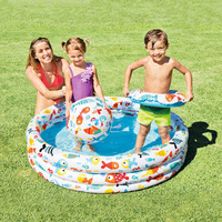 INTEX59469 Infant Swimming Pool Kids Family Oceans Ball Pool Children Pool Inflatable Swimming Pool Aquatic Toy
