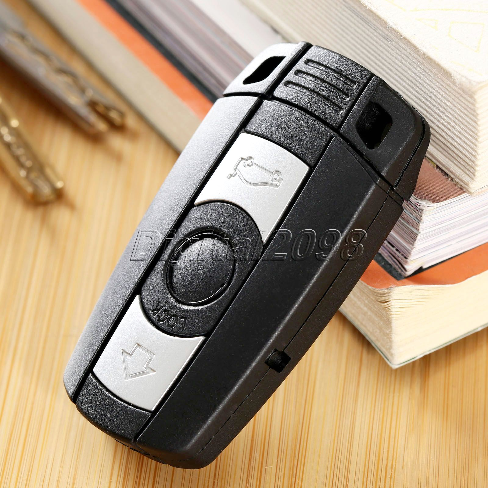 Blank Uncut Key fit for BMW 1 3 5 6 Series Remote Key Case Fob Smart Key