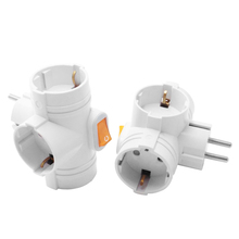 Adapter Switch Conversion-Plug Power-Socket Wall-Charger Multif European-Type 16A 250V