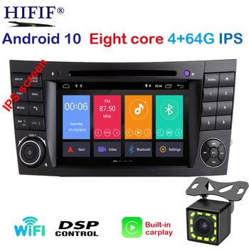 PX5 2 din Car Monitor DVD GPS Navigation Stereo Radio for Mercedes Benz G/E Class W211 W463 W209 W219 Steering Wheel Bluetooth image