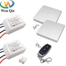 Wenqia smart switch 433 МГц rf дистанционное управление ac 85