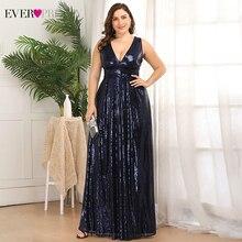 Блестящие платья для выпускного вечера размера плюс с двойным v-образным вырезом, а-силуэт, без рукавов, с блестками, эластичная Сексуальная Вечерние платья Vestidos De Gala