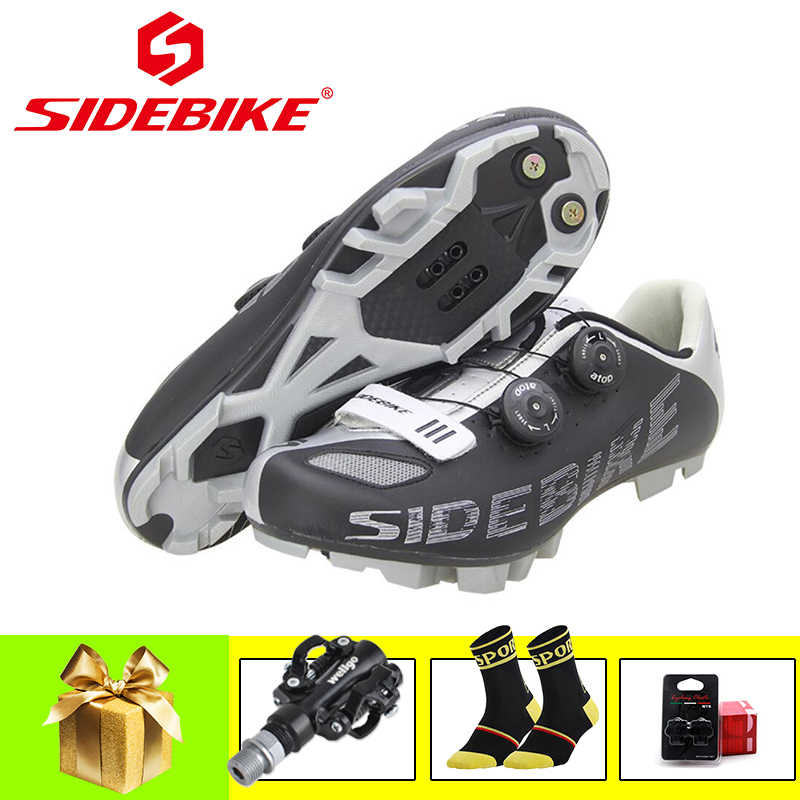SIDEBIKE sapatilha ciclismo mtb cycling shoes 2019 men women outdoor superstar SPD pedals self-locking breathable mtb sneakers