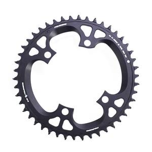 Image 3 - Fouriers Bike Enkele Kettingblad Bcd 110 42T 46 T Smalle Brede Tanden Fit Ultegra R8000 11 Speed 11 S 12 S Racefiets Kettingwiel