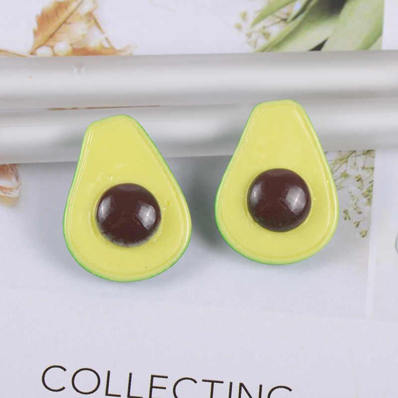 10 pièces Slime breloques coloré mélangé avocat résine pâte à modeler Slime accessoires perles faisant des fournitures pour bricolage Scrapbooking artisanat