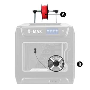 Image 3 - QIDI TECH X MAX 3D drukarki duży rozmiar wysokiej temperatury wytłaczarki PC Nylon z włókna węglowego