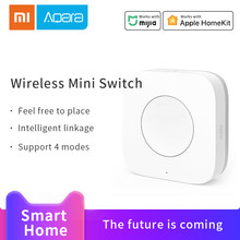 Aqara Smart Wireless Mini Switch Intelligent Application Remote Control ZigBee Wifi Connection One Key Control Smart home access(China)