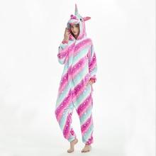 بدلة نوم للنساء Kigurumi نيسيي بيجاما للحيوانات للكبار ملابس نوم ناعمة ودافئة من الفلانيل بذلة شتوية أنيمي