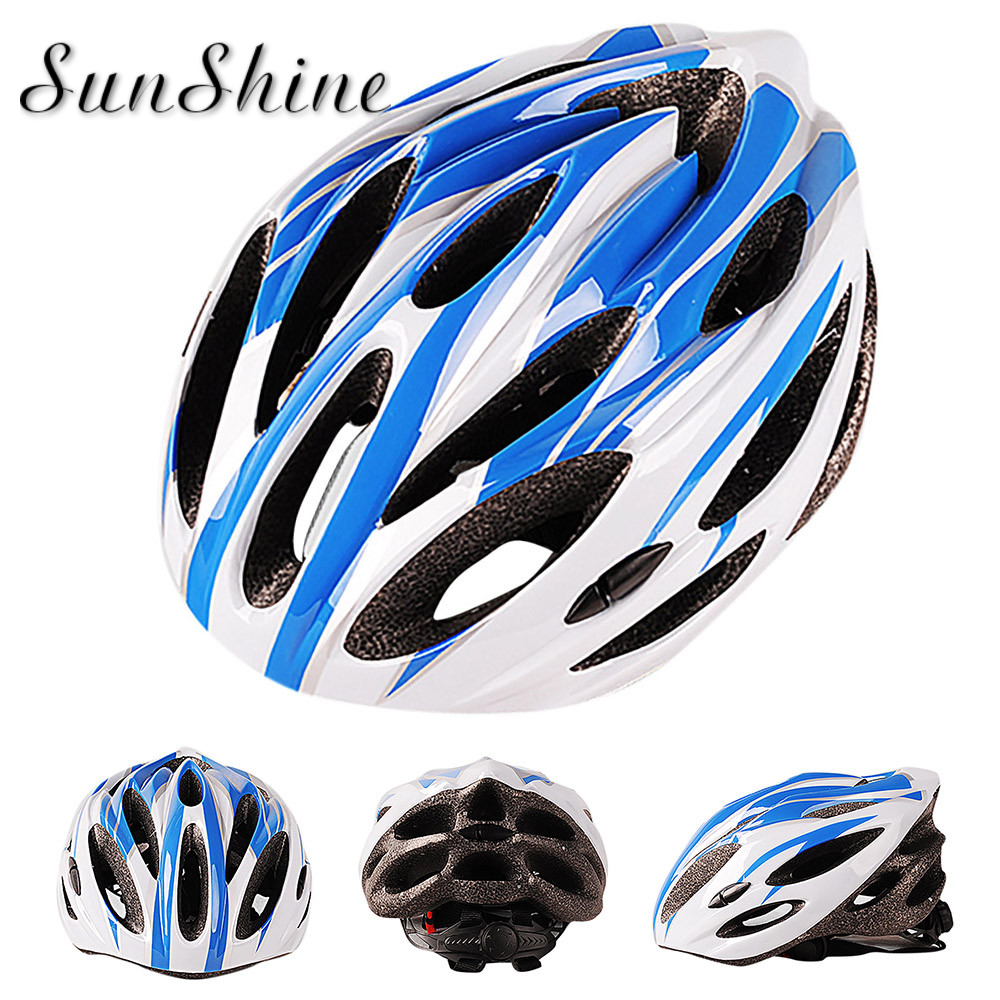2019 new Carbon Bicycle Cycling Skate Helmet Mountain Bike EPS  Impact Resistant Composite super wear-resistant pull buckle