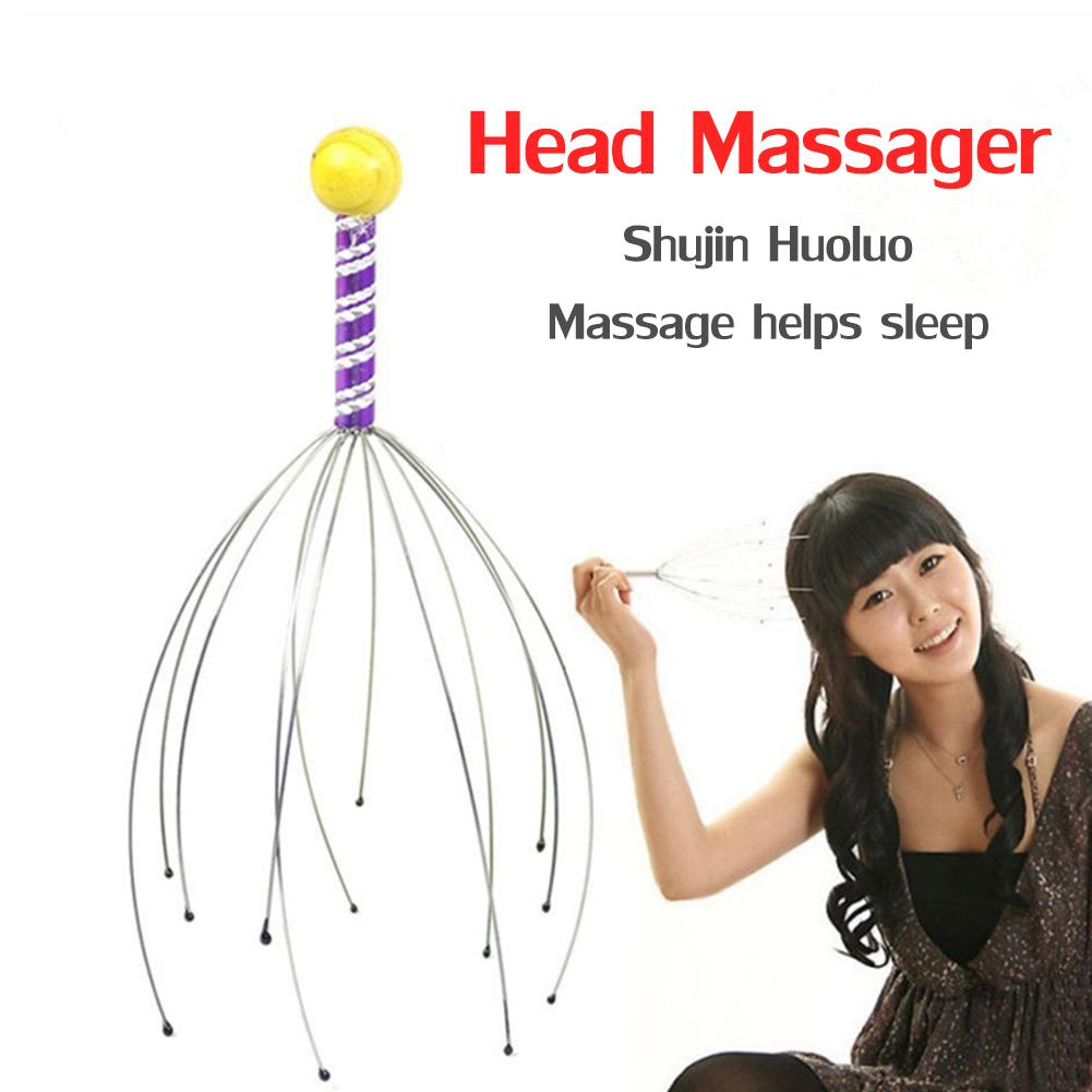 Steel Ball Claw Massager Simplicity Security Superb Craftsmanship Scalp Neck SPA Pain Stress Relief Equipment Head Care
