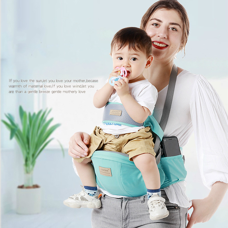 New Portable Baby Carrier Waist Stool Front Carry Walkers Baby Sling Hold Baby Carrier Backpack Kids Hipseat Belt Baby Hip Seat