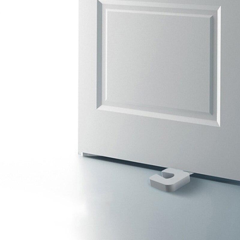 4Pcs/set Door White Plastic Door Stops Non-Slip Door Buffers For Office Home Baby Safe Floor Door Stopper Baby Care