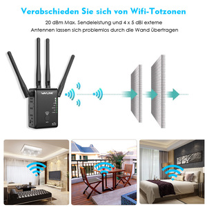 Image 3 - Wavlink WiFi Range Extender Repeater 1200Mbps Signal Booster 2.4G + 5Ghz Dual Band wifi Amplifier Repeater/Wireless Access Point