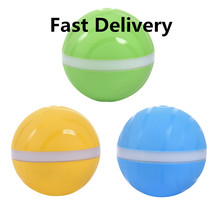 Pet Baby Kids Toy Magic Roller ball Jump Ball Funny Waterproof USB Electric LED Rolling Flash Interactive cat dog