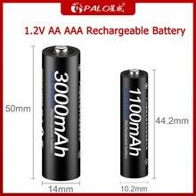 Аккумуляторная батарея palo aa aaa 12 в ni mh и перезаряжаемая