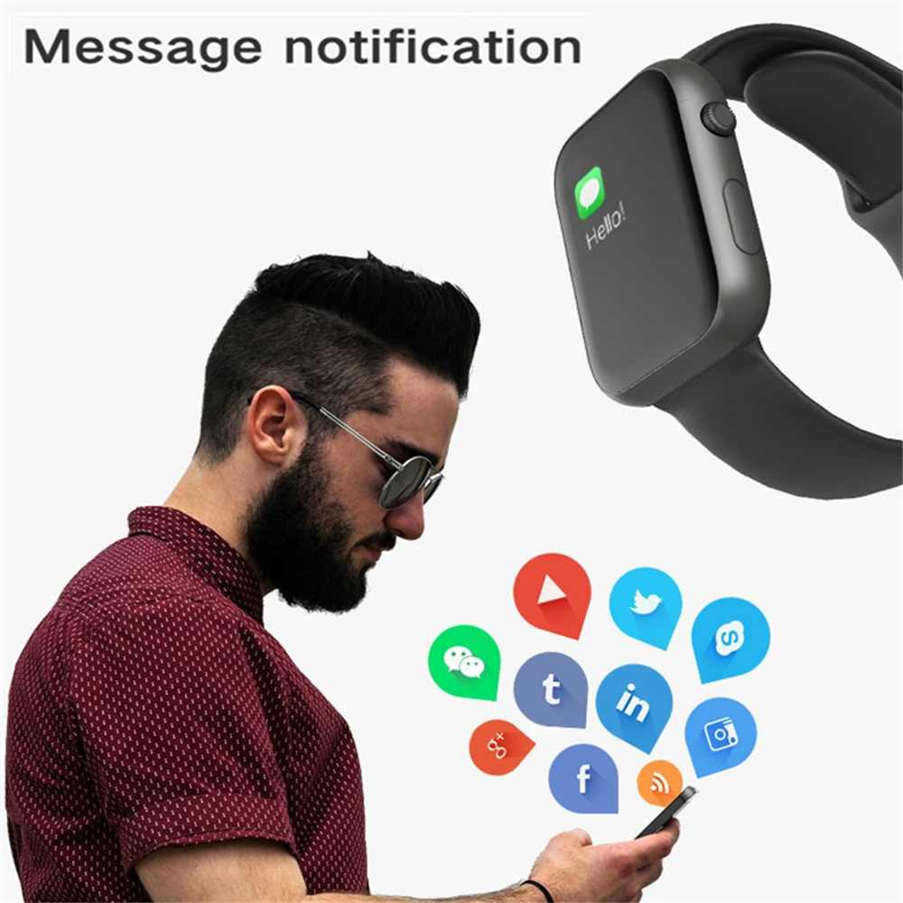 Bransoletka fitness sport Smartwatch wodoodporny krokomierz ciśnienie krwi pulsometr SX16 inteligentny zegarek PK Amazfit Gts Watch