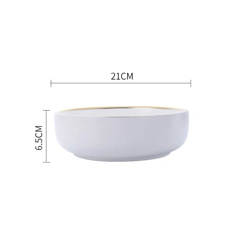 8 inch white