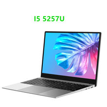 15.6 Inch Core i5-5257U SSD Metal PC Laptop Dual Core 8GB RAM 1T Notebook 1920x1080 Portable Business PC Computer Office Netbook