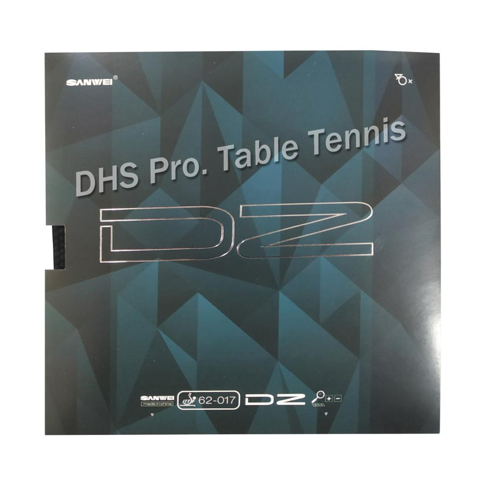 2019 New SANWEI DZ Pips-long (DIZZY, Tenacious Pips, ITTF Approved) Table Tennis Rubber Pimples Long Topsheet OX Without Sponge