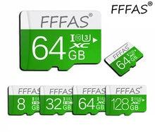 Novo produto micro sd 128gb 64gb cartões de memória ouro microsd tf 32gb 16gb 8gb classe 10 venda quente