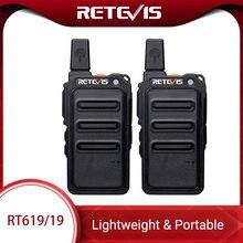 Мини рация retevis rt619 pmr радиостанция pmr446 ультратонкая