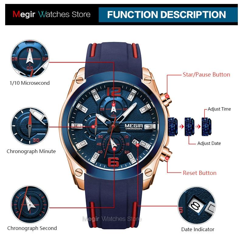 Luxury Waterproof Wristwatch