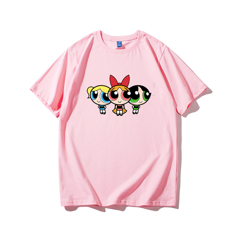 H5dc7e5b481664e2c80d7753d2a3568d47 - high quality cotton womens t shirt kawaii cartoon t-shirt femme t shirts vintage tshirt clothes women kpop vintage tee printed