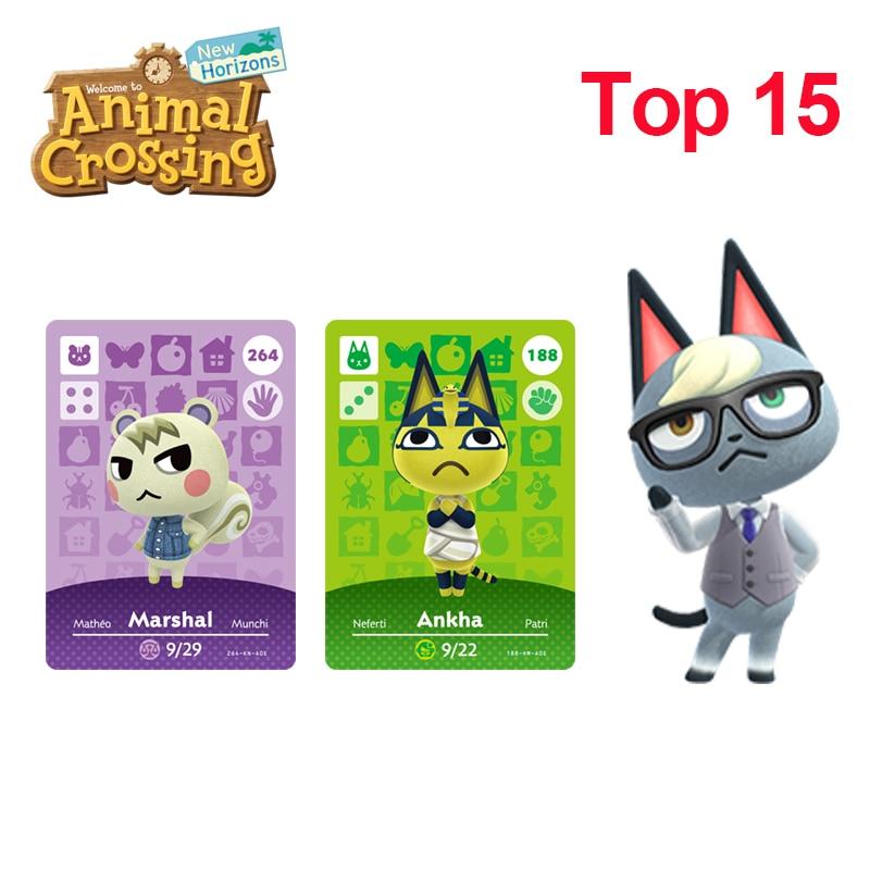 Top Fifteen Most Popular Villagers In Animal Crossing New Horizons Raymond/Judy/Marshal/Ankha/Coco/Diana/Merengue/Fauna Amiibo