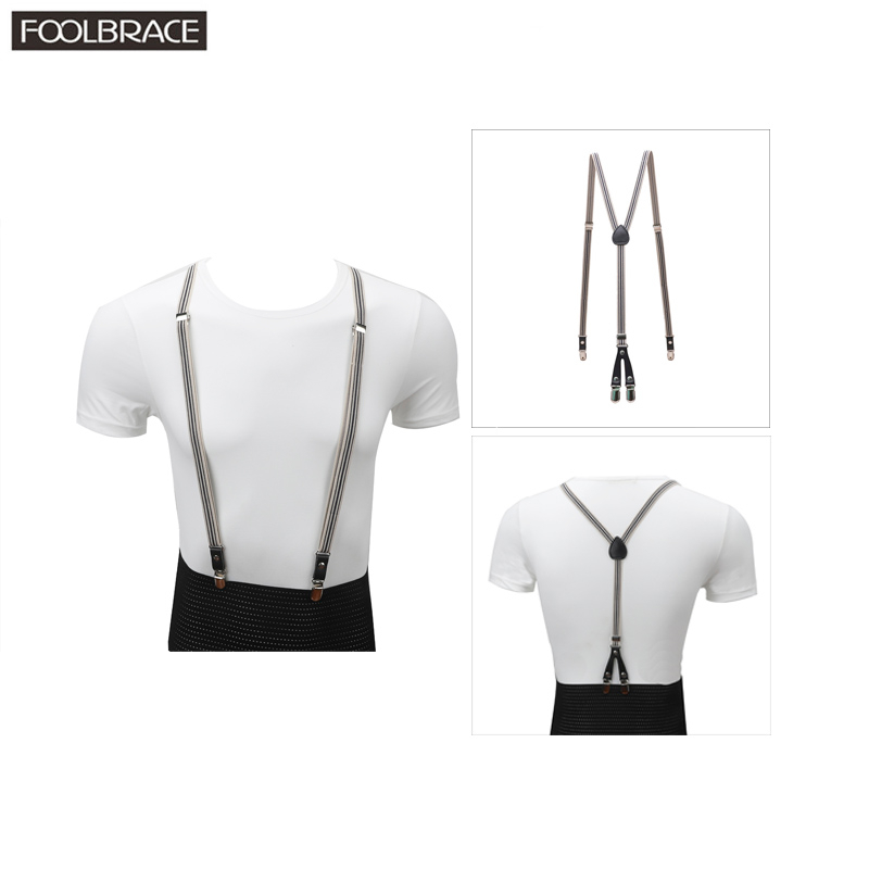 1.5cm Width Slim Skinny  Suspenders Adult Men/Women Brace Business Trousers Pants Strap For Wedding Suspenders Braces Belt Strap