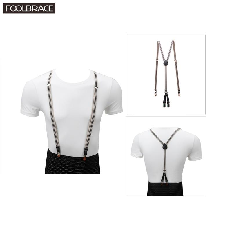 1.5cm Width Slim Skinny  Suspenders Adult Men/Women Brace Business Trousers Pants Strap For Wedding Suspenders Braces Belt Strap