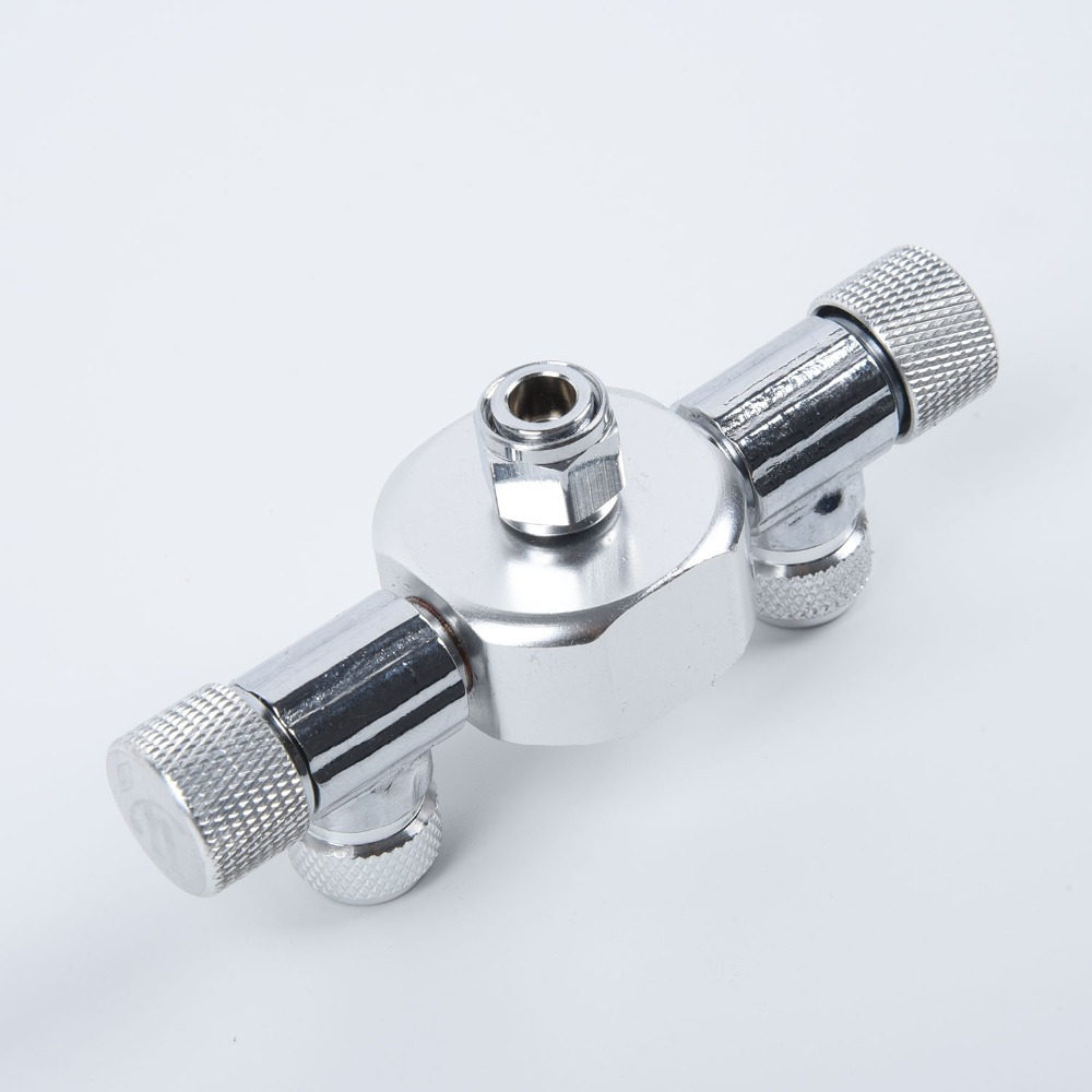 4/6 Way Aquarium Co2 Distributor Splitter Needle Valve Solenoid Regulator Different Tanks CO2 To Aquariums For Air Line