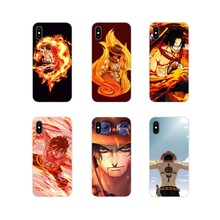 One Piece Portgas D. Ace For Samsung Galaxy J1 J2 J3 J4 J5 J6 J7 J8 Plus 2018 Prime 2015 2016 2017 Accessories Phone Case Covers(China)